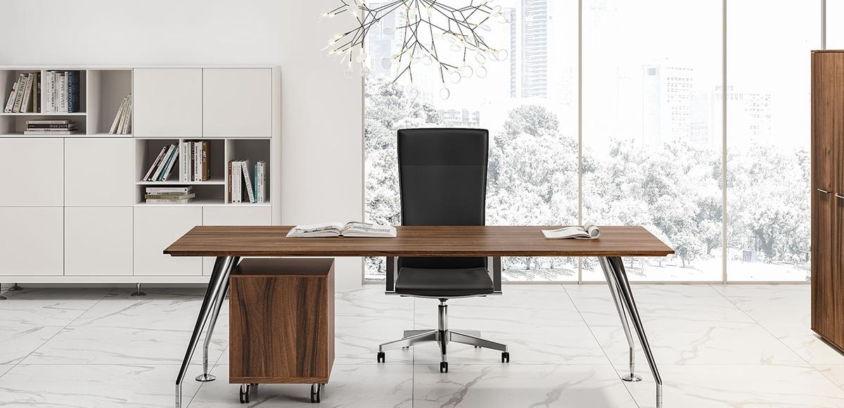 Enosi las mobili for Stock mobili ufficio